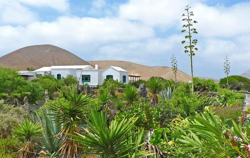 Ferienhaus mit großem Gemeinschaftspoolbereich auf der Insel von Lanzarote