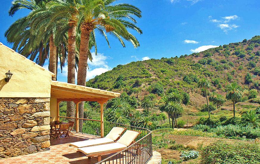 Rymligt hus med två sovrum och fullt utrustat för att njuta av en semester med all komfort i den lantliga omgivningen i Vallehermoso