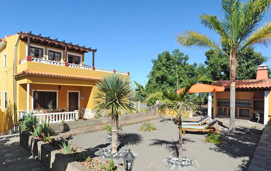 Ferienhaus mit tollem Blick auf den Atlantischen Ozean in der besten Klimazone La Palmas