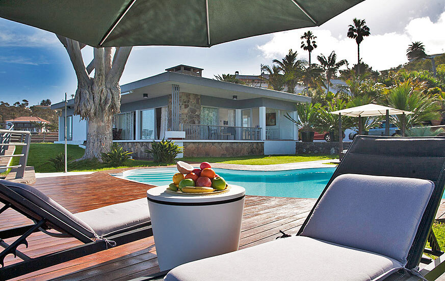 Luxury holiday villa with a private pool and great ocean views for a special holiday