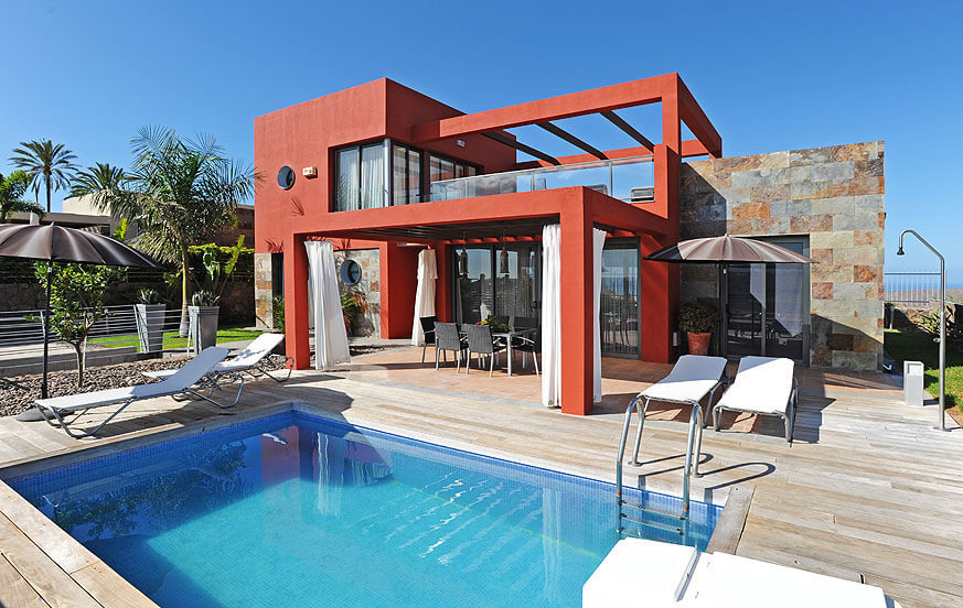 Two storey villa with modern design, nice outdoor area and private pool