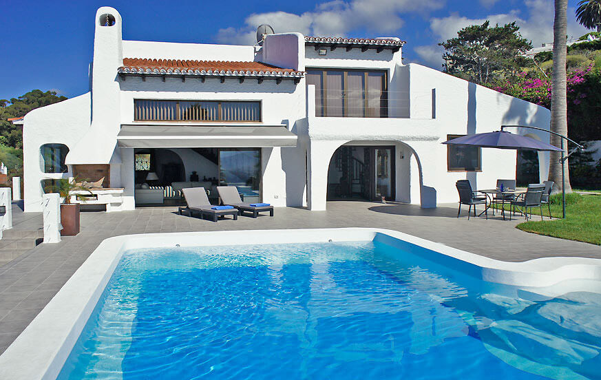 Stunning holiday house with sea views in the north of the canary island of Tenerife