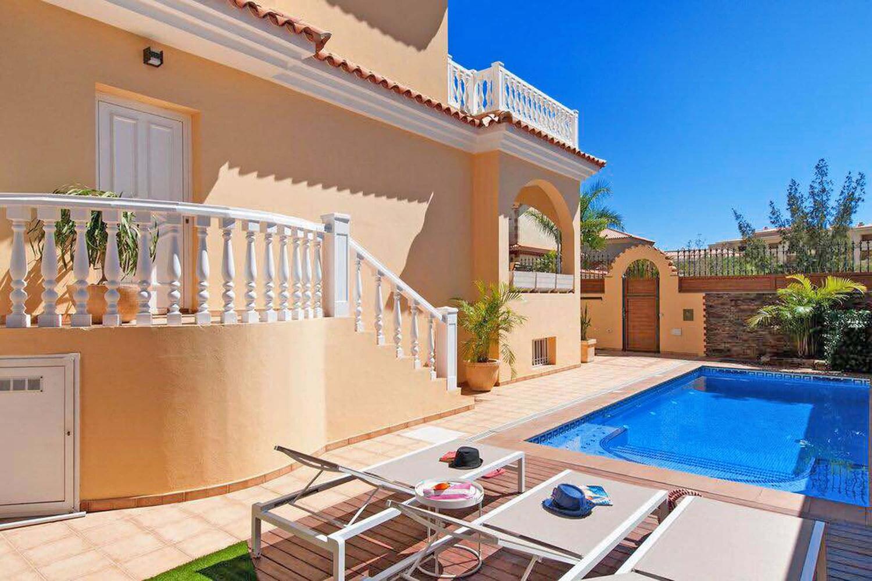 Wunderbare Ferienvilla mit privatem Pool und schönem Außenbereich in einer der besten Lagen im Süden von Gran Canaria