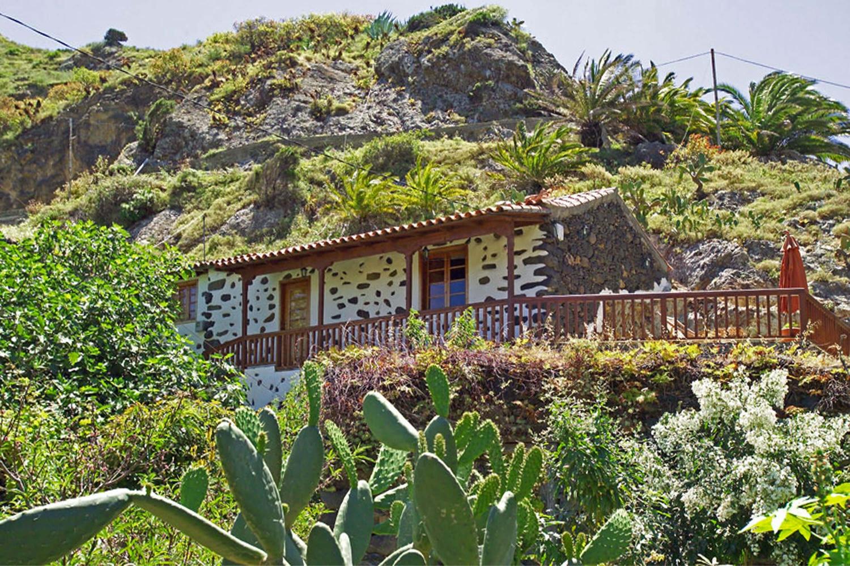 Gemütliches und gut ausgestattetes Landhaus für zwei Personen, gelegen in einem der schönen grünen Täler von La Gomera
