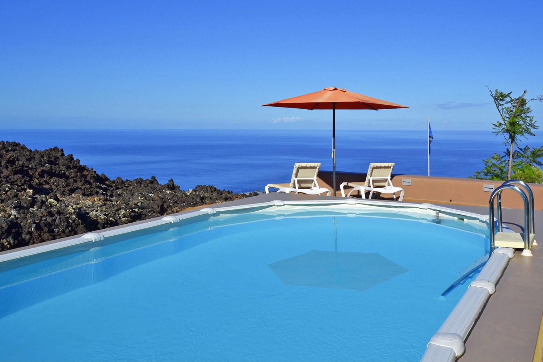 Ferienwohnung mit Gemeinschaftspool für einen erholsamen Urlaub auf der Insel La Palma